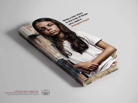 Abrinq Foundation Print Ad -  Maria