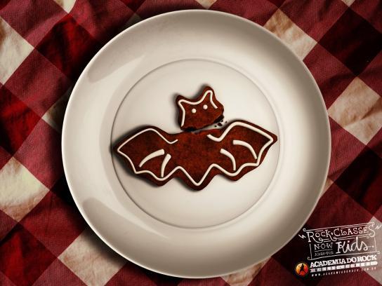 Academia do Rock Print Ad -  Bat
