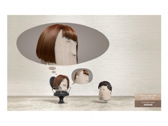 Acadomia Print Ad - Hairdresser