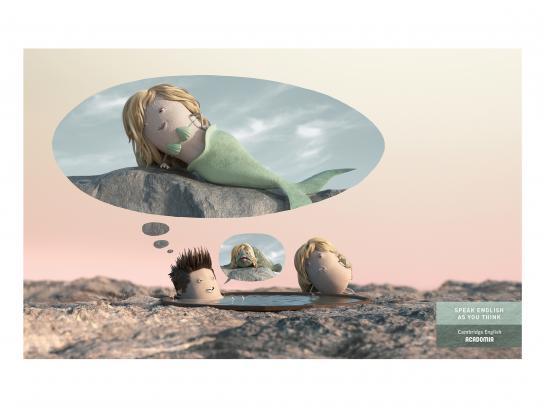 Acadomia Print Ad - Mermaid