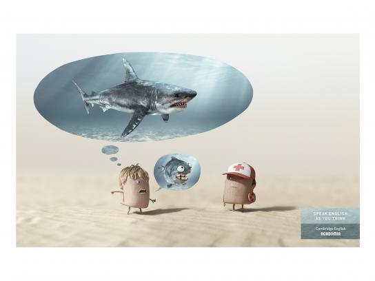 Acadomia Print Ad - Shark