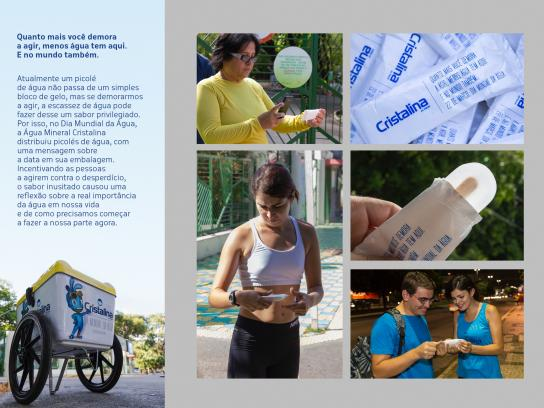 Cristalina Direct Ad -  World Water Day