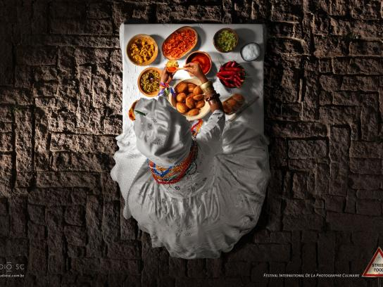 Festival International de la Photographie Culinaire Print Ad -  Street Food, 1