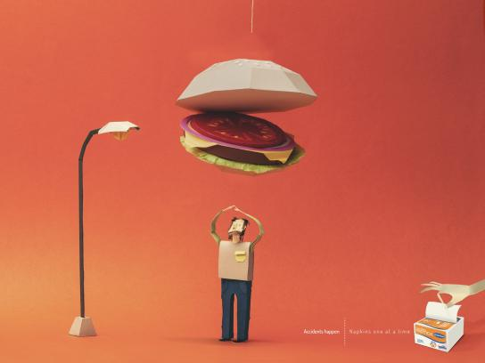 Familia Print Ad -  Accidents happen, 1
