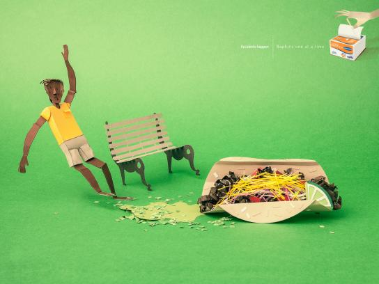 Familia Print Ad -  Accidents happen, 2
