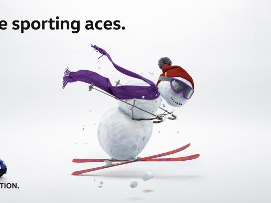 Volkswagen Outdoor Ad - Sporting Ace