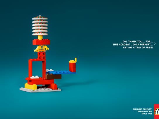 Lego Print Ad - Acrobat
