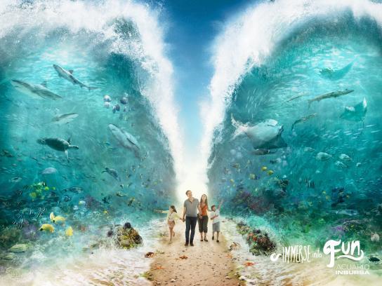 Acuario Inbursa Print Ad -  Ocean