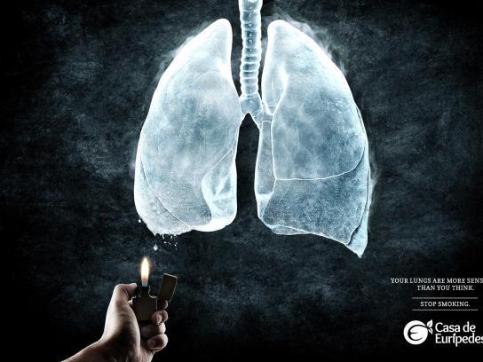 Casa de Eurípedes Print Ad -  Ice