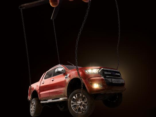 Ford Print Ad - Marionette, 1