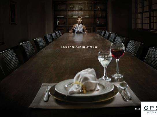 GPS Magazine Print Ad - Isolation, 1