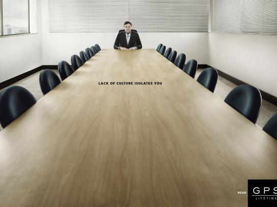 GPS Magazine Print Ad - Isolation, 2