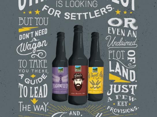 Upland Print Ad -  Settlers