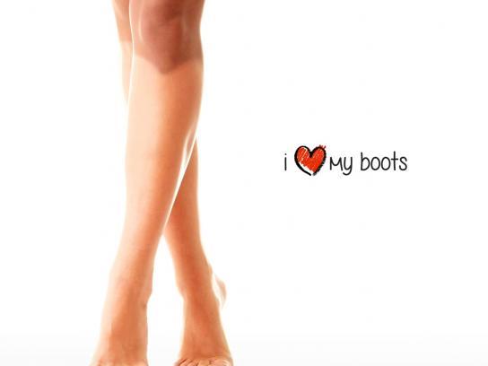 Brazilia Print Ad -  I Love My Boots, 2