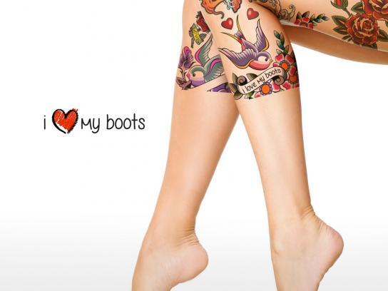 Brazilia Print Ad -  I Love My Boots, 3