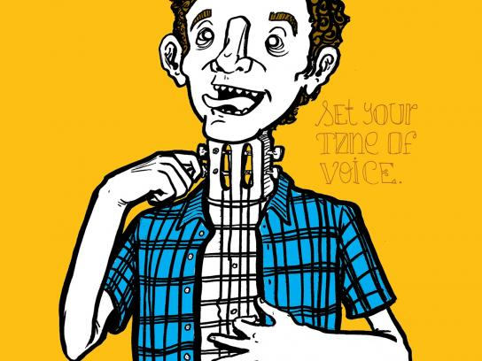 Arte&Som School of Music Print Ad -  Set your tone of voice, 1