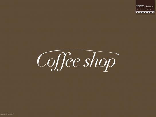 Toldos Vila Velha Print Ad - Coffee shop