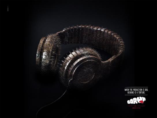 Baruh Print Ad -  Headphones