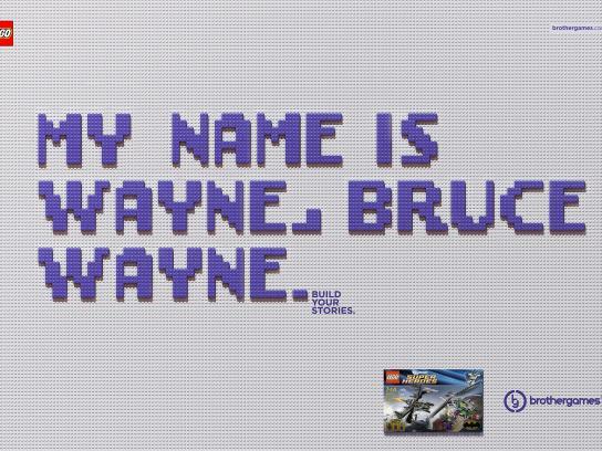 Brother Games Print Ad -  Wayne
