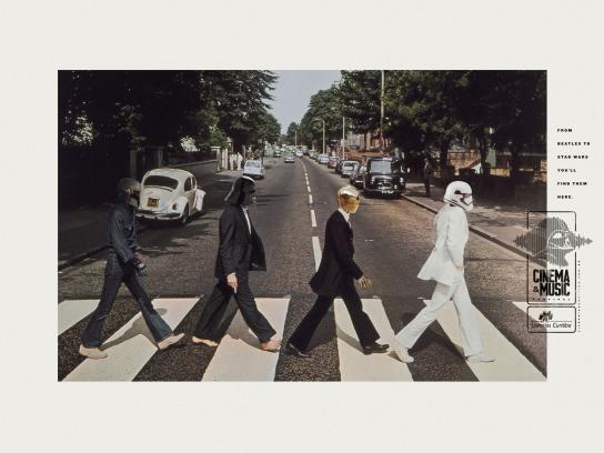 Livrarias Curitiba Print Ad - Beatles Wars