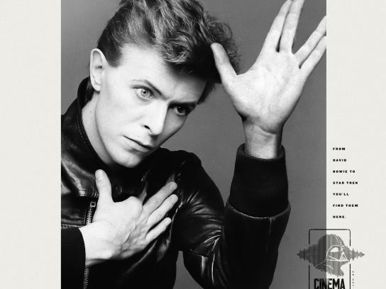 Livrarias Curitiba Print Ad - Bowie Trek