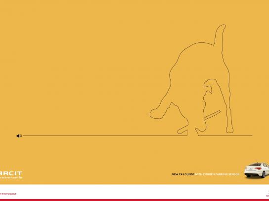 Citroën Print Ad -  Dog