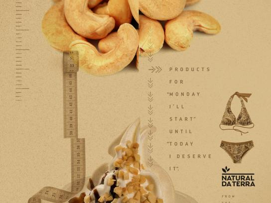 Natural da Terra Print Ad - Diet, Cashew Nuts