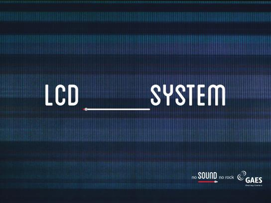 Gaes Print Ad - LCD System