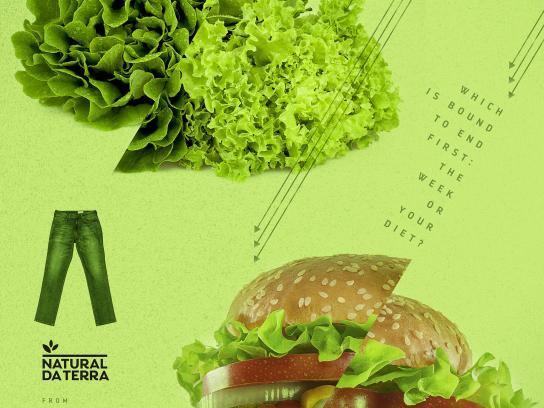 Natural da Terra Print Ad - Diet - Lettuce