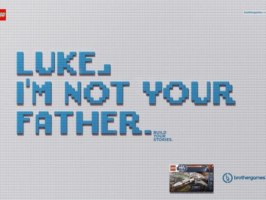 Brother Games Print Ad -  Luke