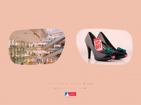 Óticas Paris Print Ad - Shoe