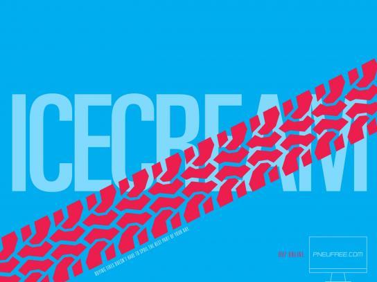 Pneufree.com Print Ad -  Buy online, 4