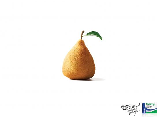 Poliseng Print Ad -  Fried pastry