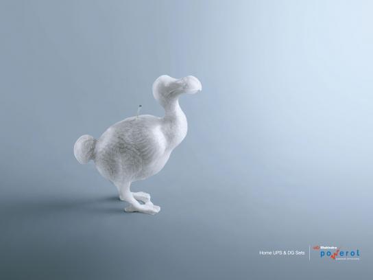 Mahindra Powerol Print Ad -  Dodo