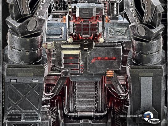 Powner Print Ad -  Transformer