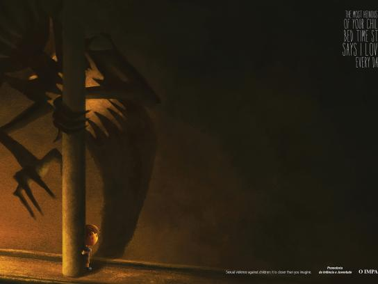 O Imparcial Print Ad -  Sexual Violence Against Children, It is closer than you imagine, 2