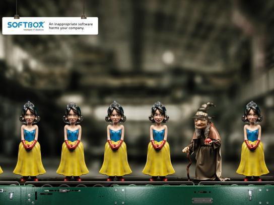 Softbox Print Ad -  Snow White