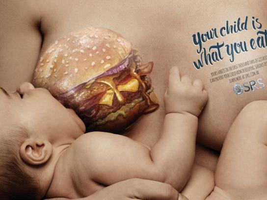 SPRS Print Ad -  Burger