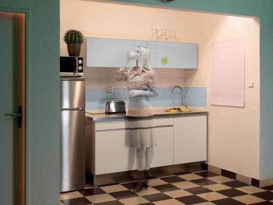 Art Directors Club Print Ad -  Kitchen