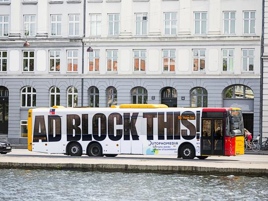 OutOfHoMedia Outdoor Ad - Ad block this
