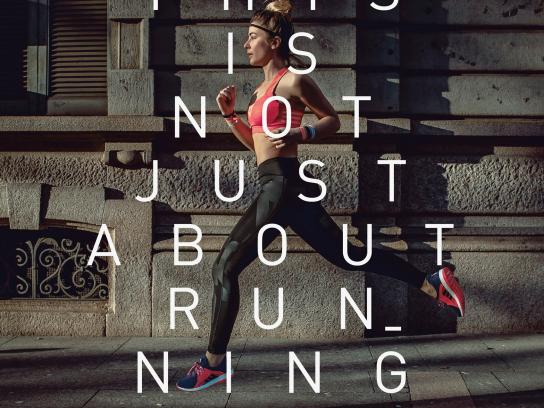 Adidas Print Ad - Running