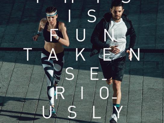 Adidas Print Ad - Fun