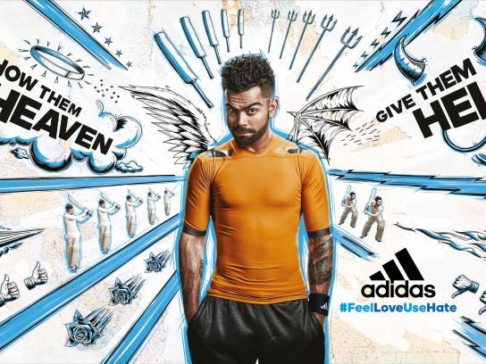 Adidas Print Ad -  Blue