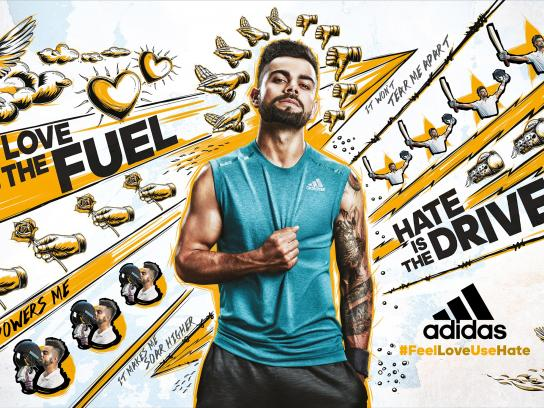 Adidas Print Ad -  Yellow