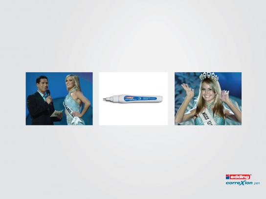 Edding Print Ad -  Miss Teen South Carolina