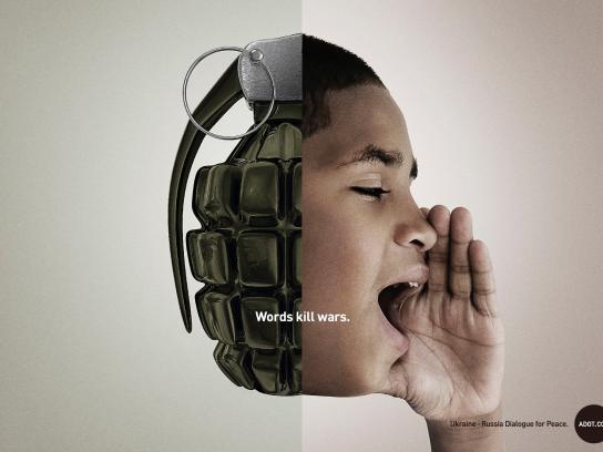 ADOT Print Ad -  Words, 2