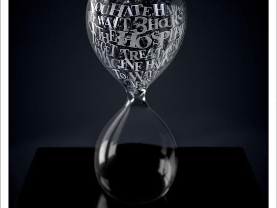 France ADOT Print Ad -  Hourglass