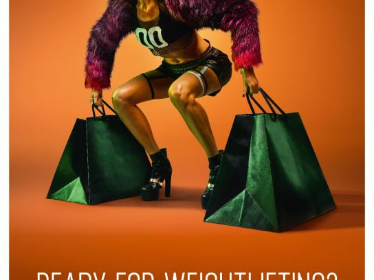 Panorama Print Ad - Weightlifting