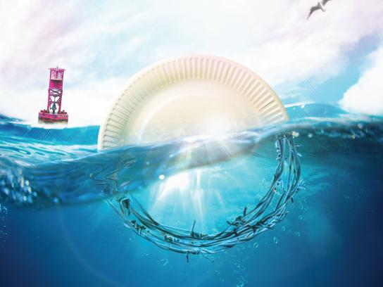 WWF Print Ad - Pollution of the Seawater, 3