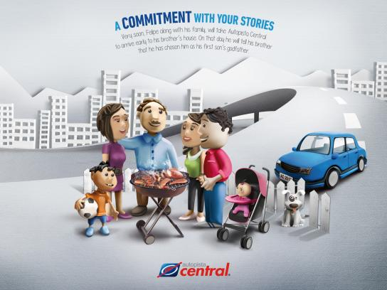Autopista Central Print Ad -  Godfather